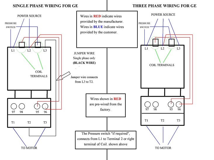 Ge Wiring Diagram on Single Phase Motor Wiring Diagrams